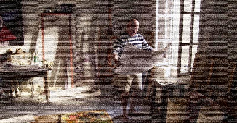 Владимир Познер принимал активное участие в ремонтных работах