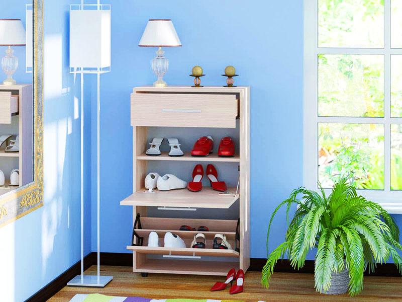 Выбирайте систему хранения обуви в соответствии со стилевым и цветовым решением прихожей