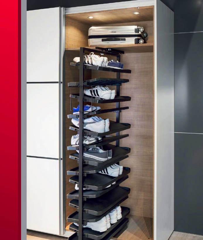Шкаф-купе — идеальная система хранения обуви