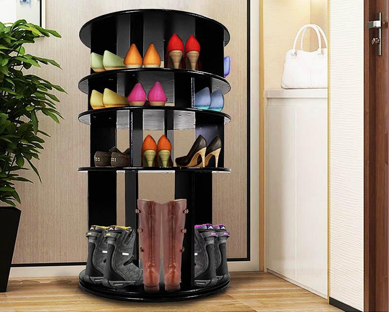 В такой обувнице легко найти и достать нужную пару