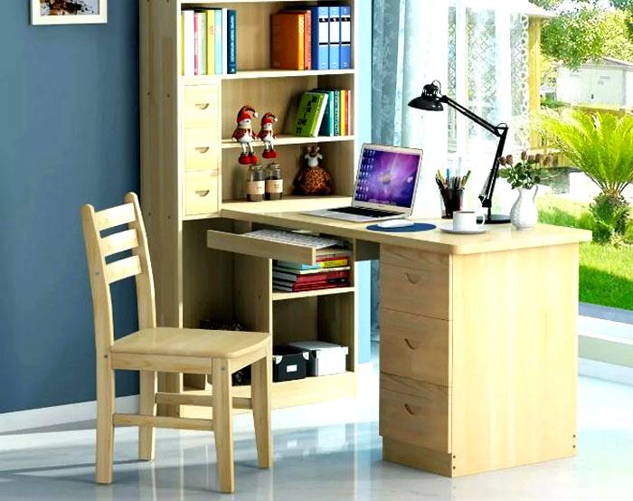 Главное, выбрать правильное место для письменного стола