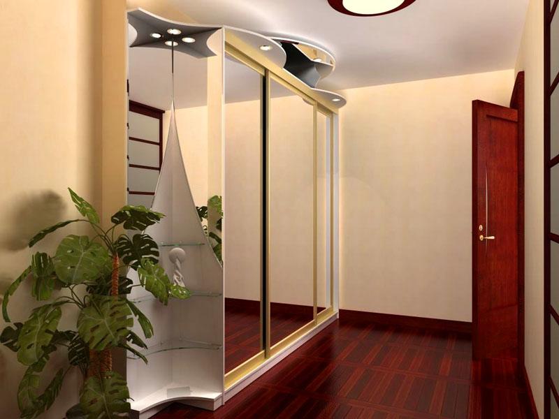 Шкаф-купе с зеркальными фасадами — практично, эстетично и не противоречит канонам фэн-шуй