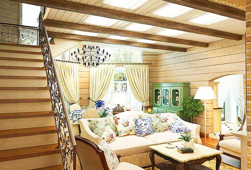 Также вы можете добавить больше света в помещение, используя белые занавески и чехлы для диванов; для стен также выбирайте светлую краску – белую или бежевую