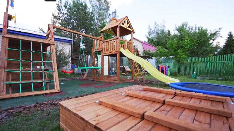 Игровая площадка для внуков