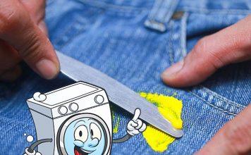 Как оттереть краску с одежды
