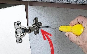 Как починить вырванную петлю дверцы