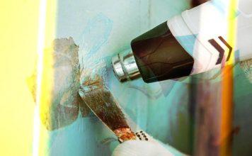 Как правильно снять краску со стен