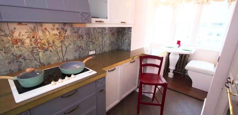 Оценим противоречивый ремонт на кухне популярной актрисы Марины Дюжевой