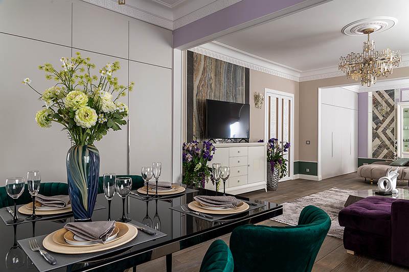 Интерьер роскошной квартиры знаменитого Митяя Буханкина из «Сватов» – Николая Добрынина