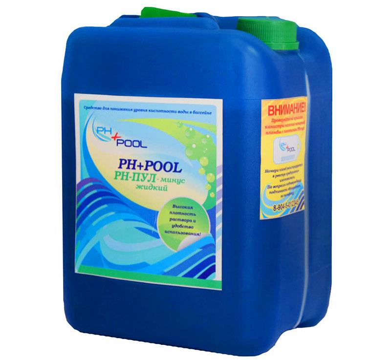 Перед дезинфекцией нужно проверить уровень кислотности воды и выровнять его до показателей 7,2-7,6 при помощи специальных препаратов