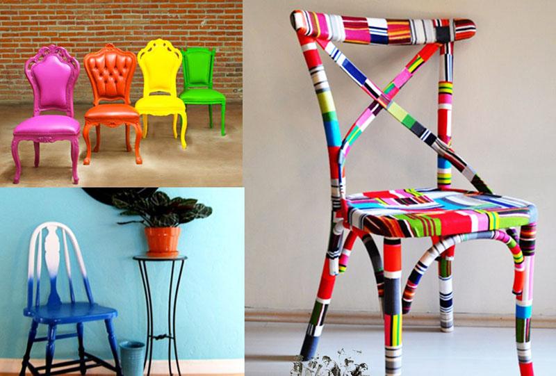 Такие стулья будут неплохо смотреться в детской