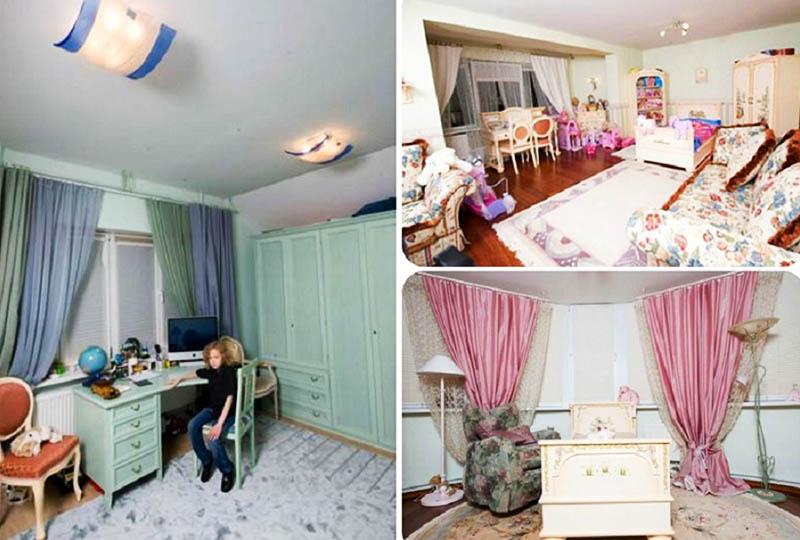 Для мебели и отделки детских комнат использованы исключительно экологически чистые материалы