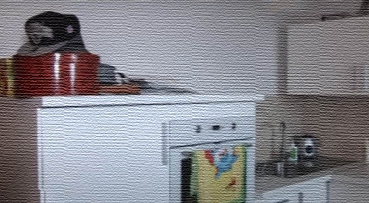 На столешнице кухни практически нет посуды, поскольку Егор Крид дома только завтракает