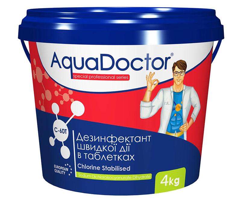 Химия шоковой терапии «AquaDoctor C-60» подойдёт и для дезинфекции