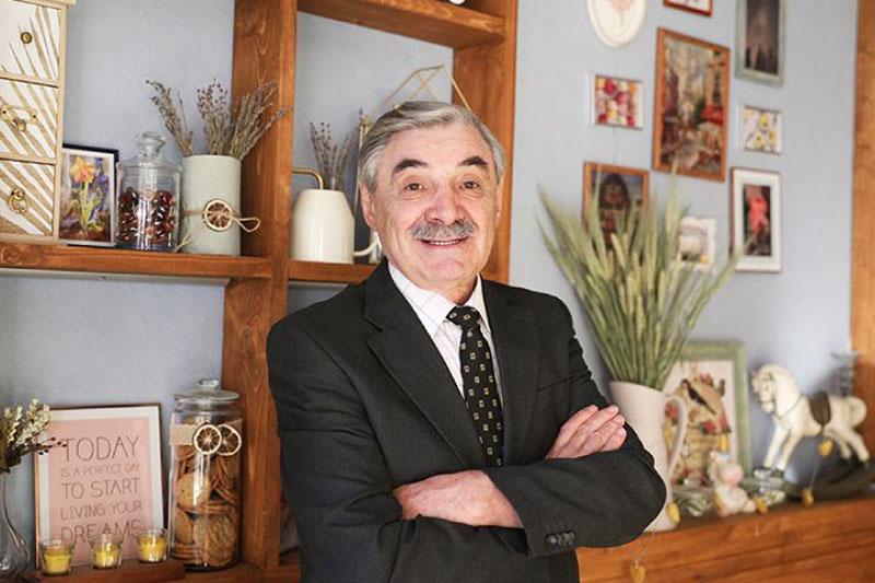 Александр Панкратов-Чёрный и его квартира в Москве