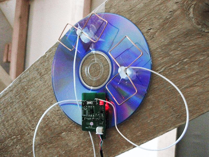 Ещё один интересный вариант изготовления антенны Харченко для усиления Wi-Fi-сигнала