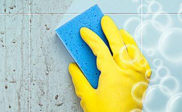 Чем отмыть плитку в ванной: лучшие способы