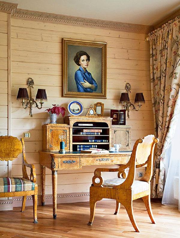Марина Зудина показала интерьер роскошного имения, доставшегося в наследство от Олега Табакова