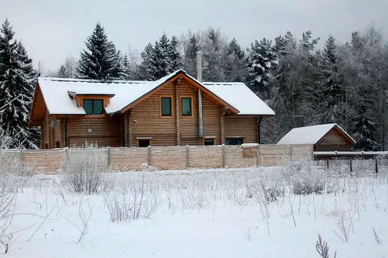 Михаил Пореченков и его необычный дом