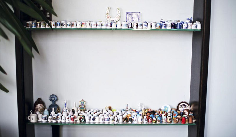 Оригинальная коллекция арт-объектов из фарфора Мити Фомина