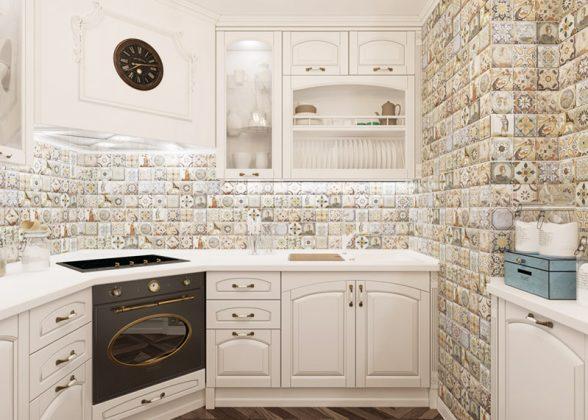 Фантастическая практичность: моющиеся обои для кухни