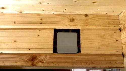 Обшивка стен внутри помещений: имитация бруса и её монтаж
