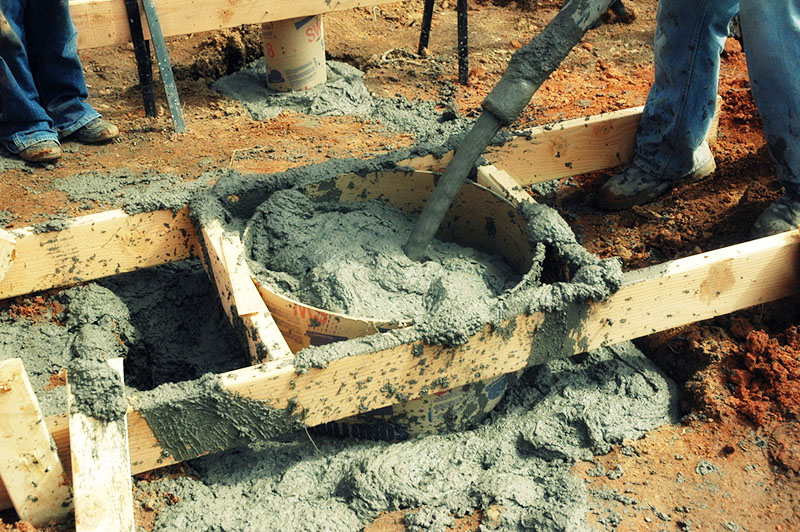 Расход цемента на один куб раствора для стяжки, кладки, штукатурки и фундамента