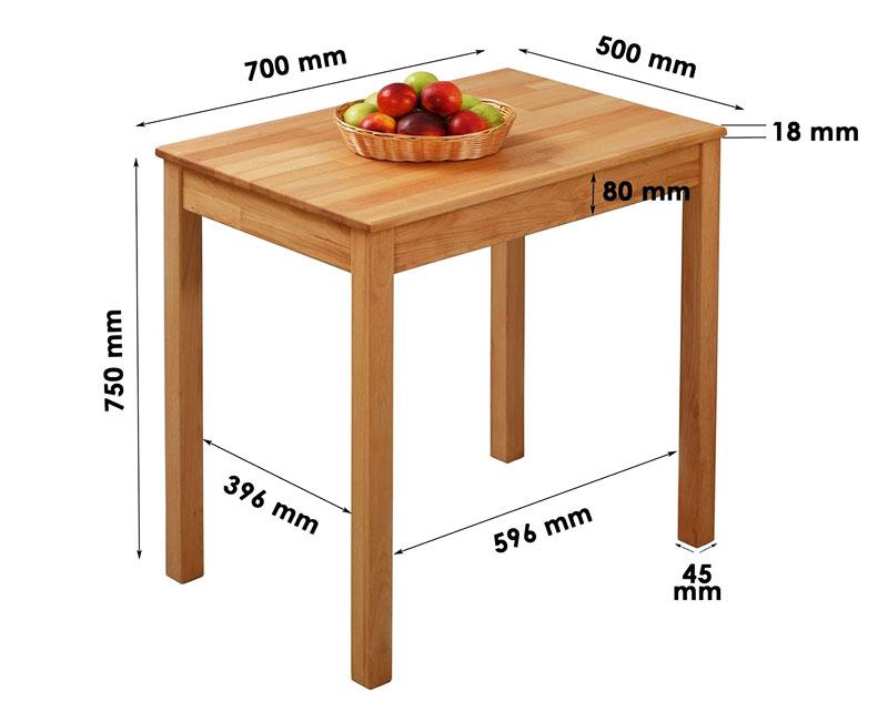 От габаритов стола зависит комфортность его эксплуатации