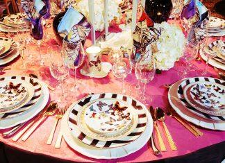 Сервировка стола на день рождения: идеи