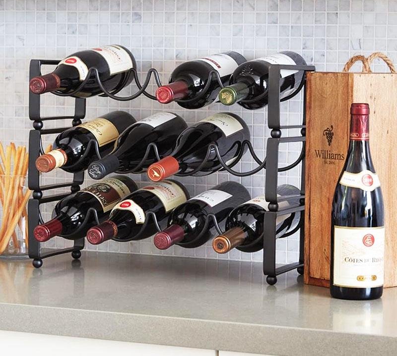 Подставка для горизонтального хранения вина
