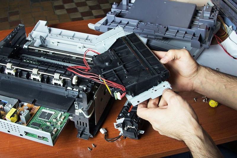Если лазерный принтер невозможно починить, из него можно сделать простейший ветрогенератор