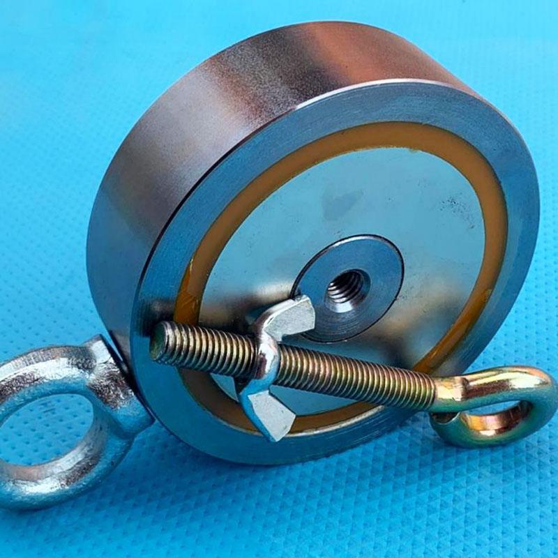 Использование магнита для протяжки кабеля в гофре — довольно оригинальное решение