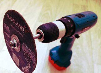 Как срезать гайку при помощи шуруповёрта