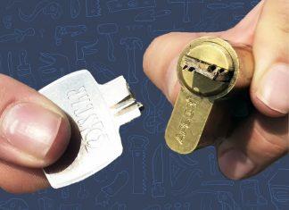 Как удалить обломок ключа из замка