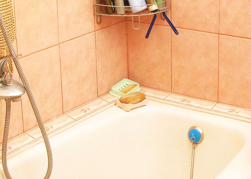 А после заделайте поверхность кусочками плитки или просто выровняйте штукатуркой и покрасьте водостойкой краской
