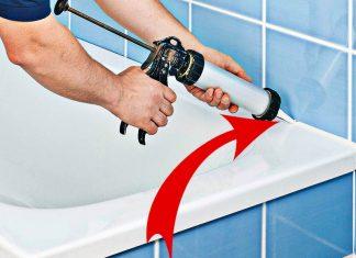 Как закрыть большую щель между ванной и стеной