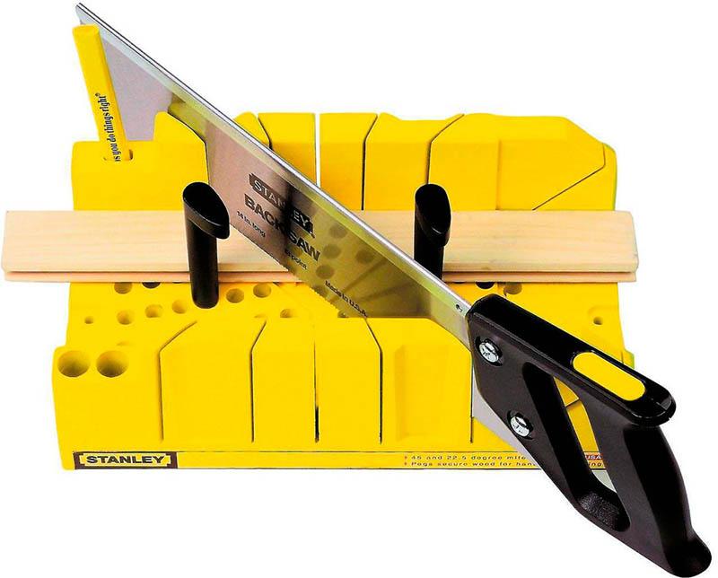 Обналичка на двери: простейший способ зарезки под 45°
