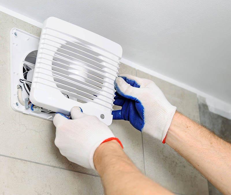 К сожалению, не всегда ясно сразу, будет ли в ванной комнате сырость и правильно ли циркулирует воздух