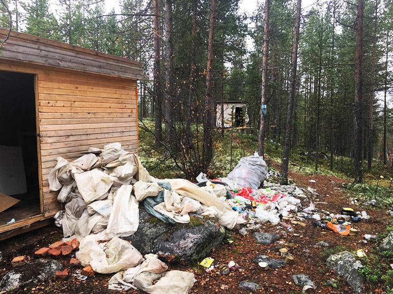 Как быстро освободить участок от мусора
