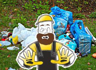 Как быстро освободить участок от мусор
