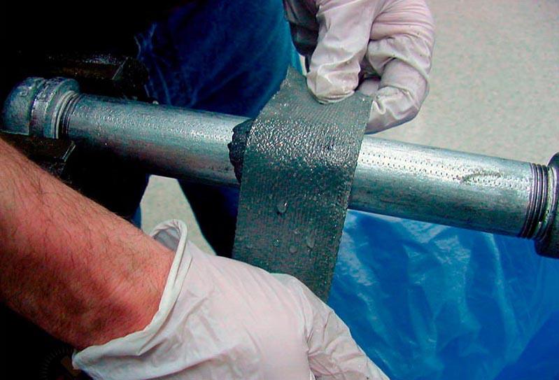 Ремонтная лента для труб ‒ JWR-технология