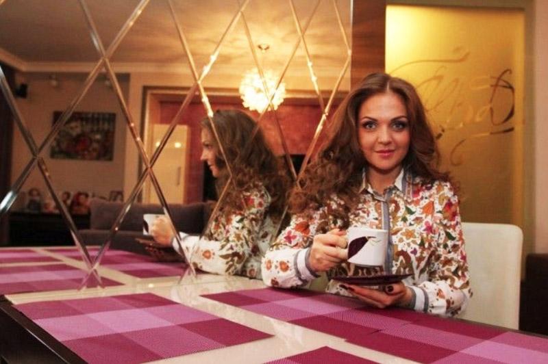 Марина Девятова и её новые апартаменты