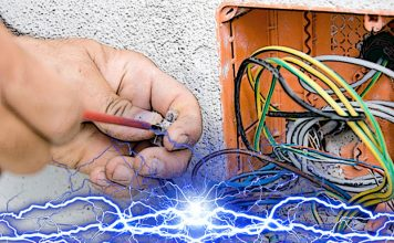 Монтаж электропроводки с возможностью последующего ремонта