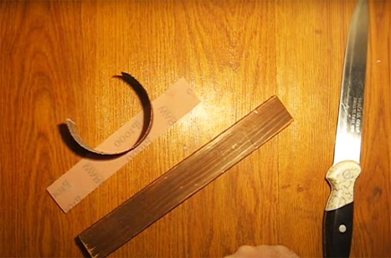 Нож до состояния лезвия