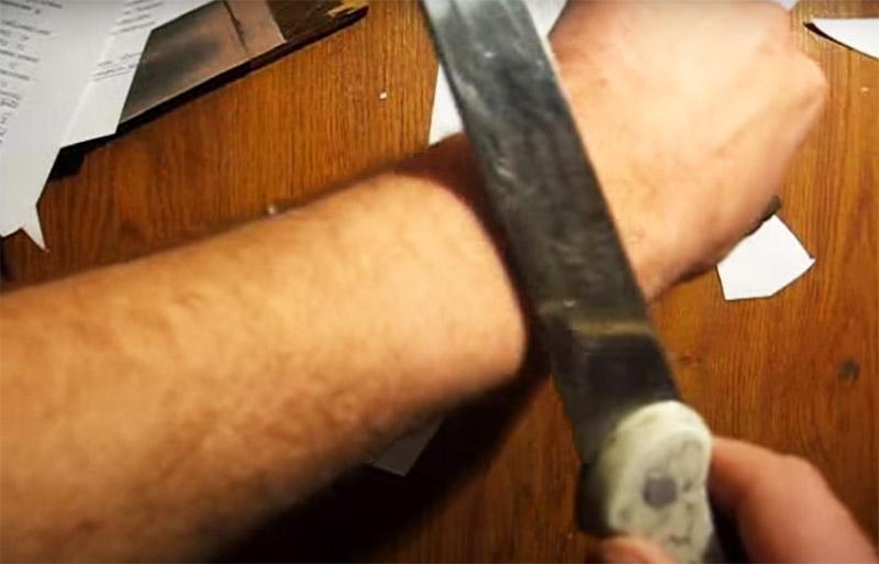Нож до состояния лезвия – как наточить самому дома