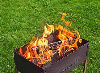 Розжиг углей в мангале без жидкости и горелки