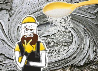 Зачем сахар добавляют в бетонный раствор