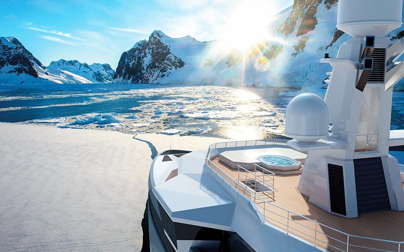 Больной раком Олег Тиньков готовит к спуску уникальную яхту-ледокол, которая станет его домом