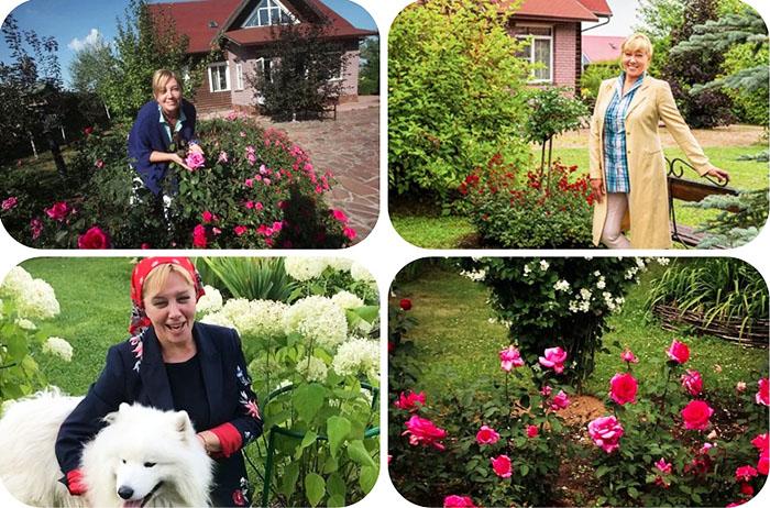 Арина Шарапова увлеклась цветоводством и устроила роскошный розарий с цветами премиум-класса