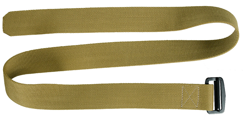 Солдатский брючный ремень – идеальный материал для фитиля самодельной горелки